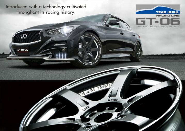 インフォメーション   ホシノインパル、新ホイール『チームインパルRACING LINE GT-06』を発売