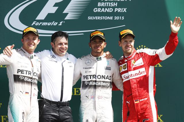 F1 | F1イギリスGP決勝、トップ10ドライバーコメント