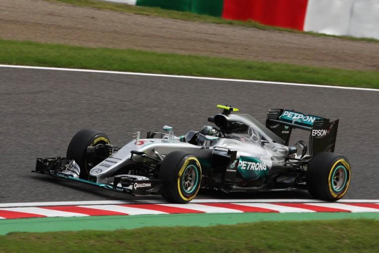 F1   F1日本GP鈴鹿、FP2はロズベルグが再び首位。アロンソも8位と好調