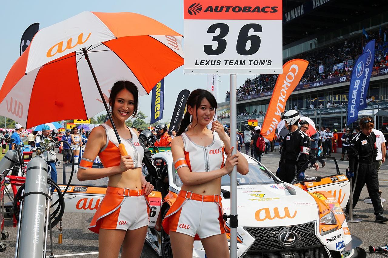 スーパーGT第7戦タイ決勝日