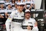 2016年第17戦日本GP フェルナンド・アロンソと ジェンソン・バトン(マクラーレン・ホンダ)
