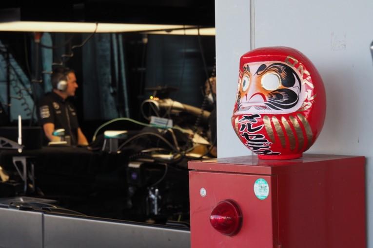 機密情報満載。メルセデスのガレージツアー@日本GP現地情報