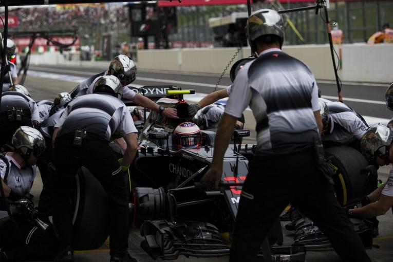 F1   バトン「これがマシンの実力。直前のセットアップ変更も機能せず」:マクラーレン・ホンダ F1日本GP土曜