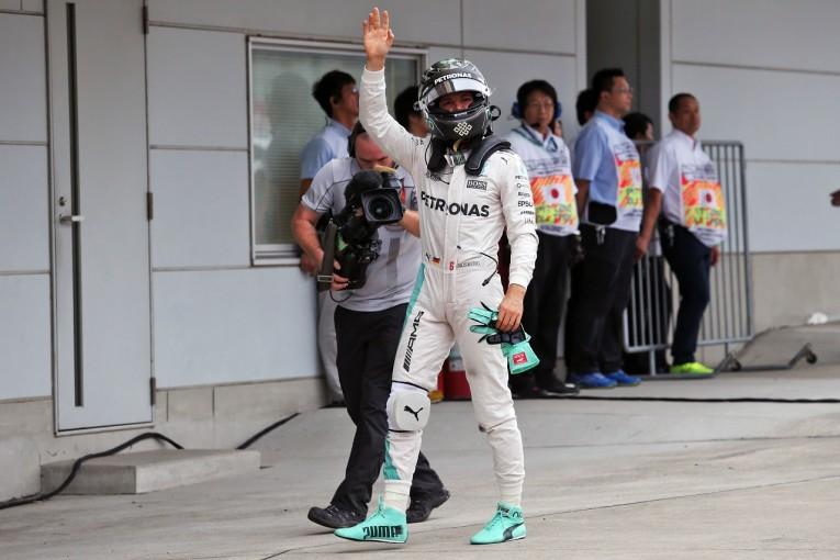 F1 | PPのロズベルグ「車の仕上がりは最高。決勝は6台のエキサイティングな戦いに」:メルセデス F1日本GP土曜