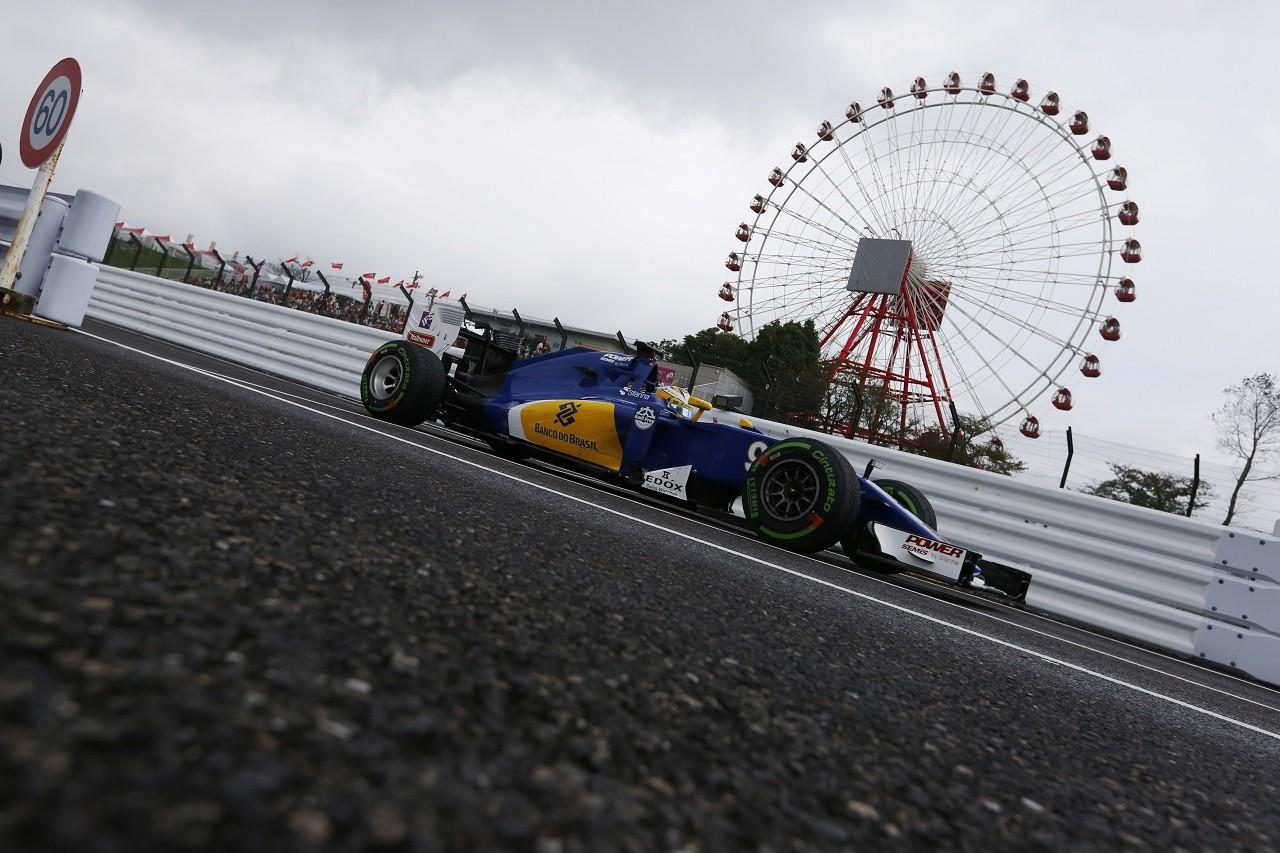 2016年第17戦日本GP マーカス・エリクソン(ザウバー)