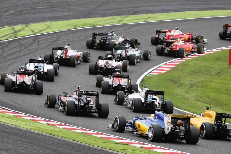 F1   決勝日/F1第17戦日本GP フォトギャラリー