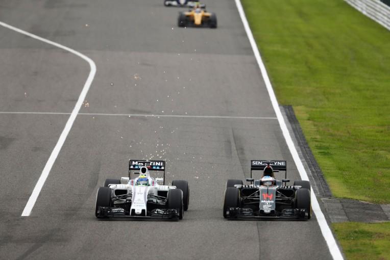 F1 | マッサ「戦略によりダブル入賞もライバルに届かず」:ウイリアムズ 日本日曜