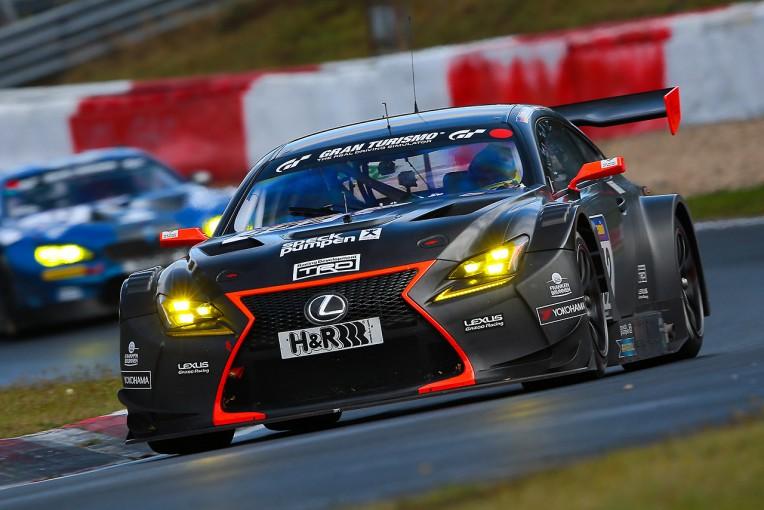 ル・マン/WEC   VLN9でレクサスRC F GT3の17年型プロトタイプがデビューウインを飾る