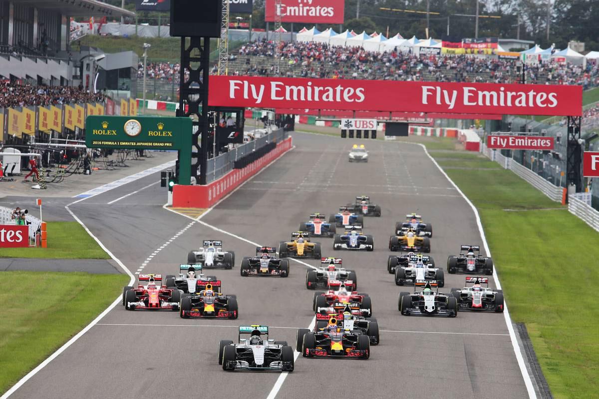 2016年F1第17戦日本GP 決勝レース