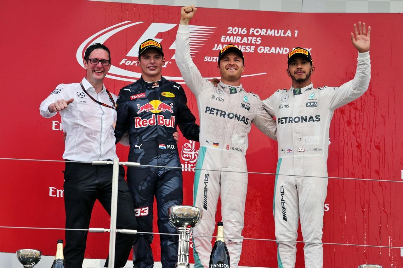 2016年日本GP表彰台
