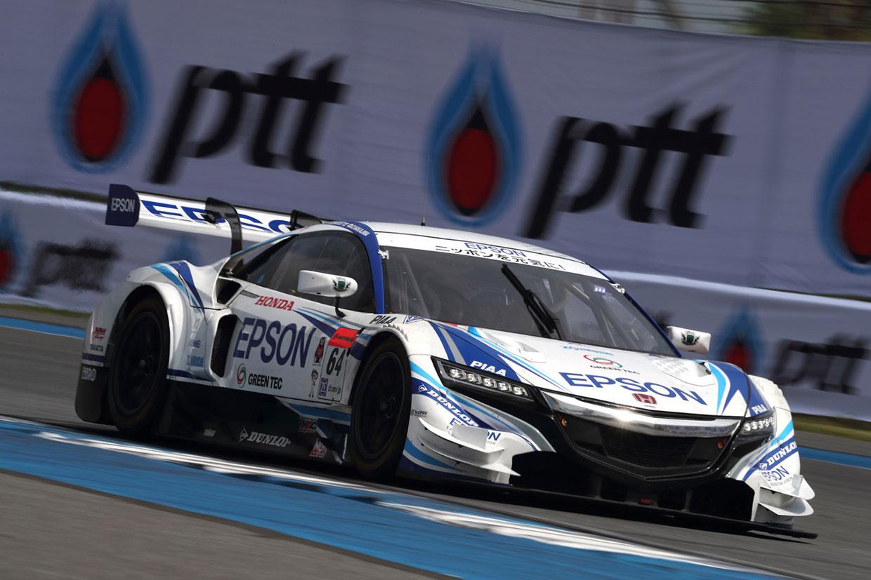 Epson Nakajima Racing スーパーGT第7戦タイ 決勝レポート