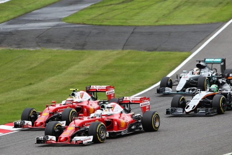 F1 | ライコネン「ペナルティがなければいい結果を出せたはず」:フェラーリ F1日本GP日曜