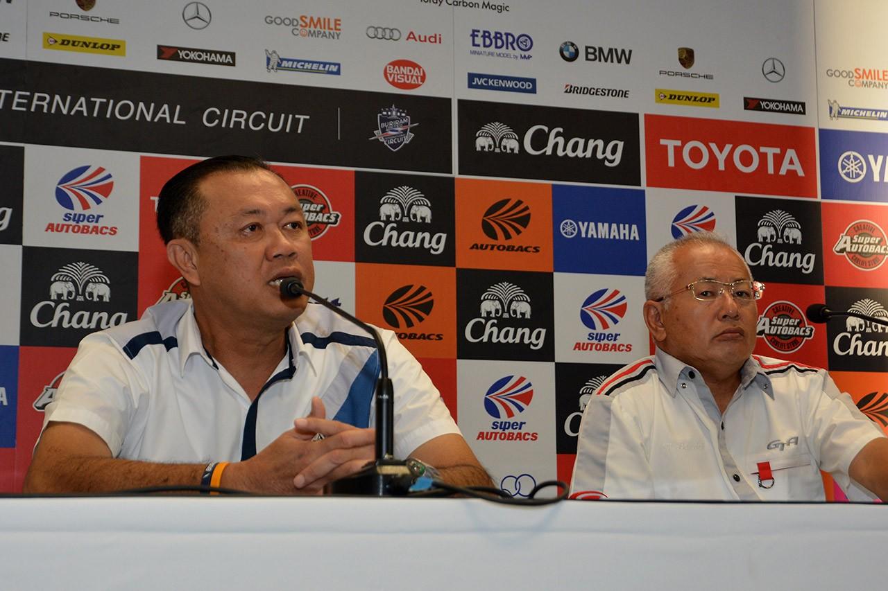 タイでのスーパーGT開催は2017〜18年の2年間契約延長。インフラ整備をアピール