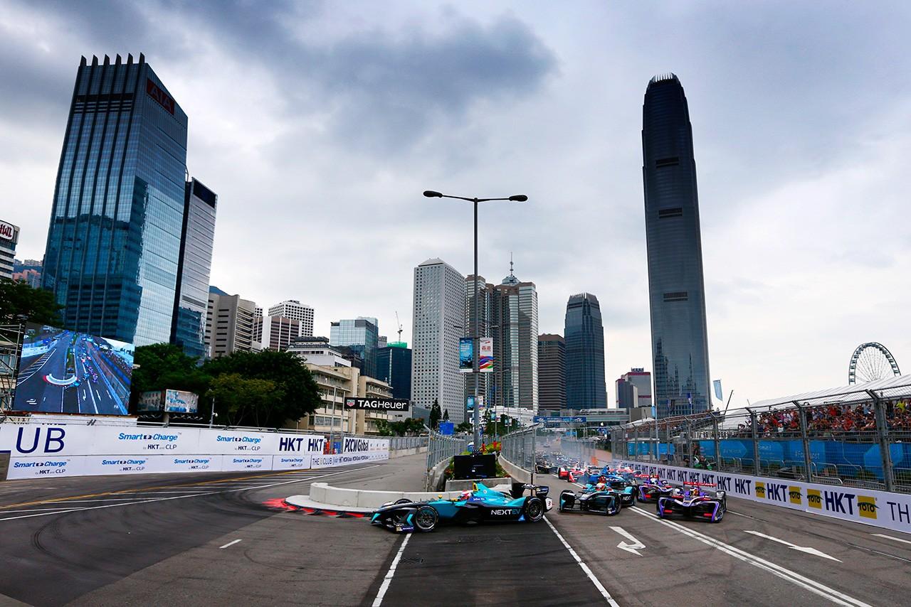 フォーミュラE第1戦香港ePrix