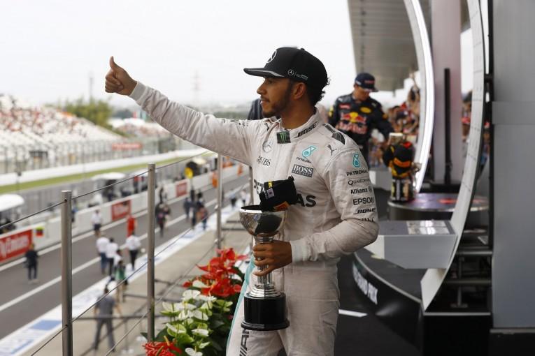 F1   ハミルトン「スタート失敗は自分のミスだと思う。状況は厳しくなってきた」:メルセデス F1日本GP日曜