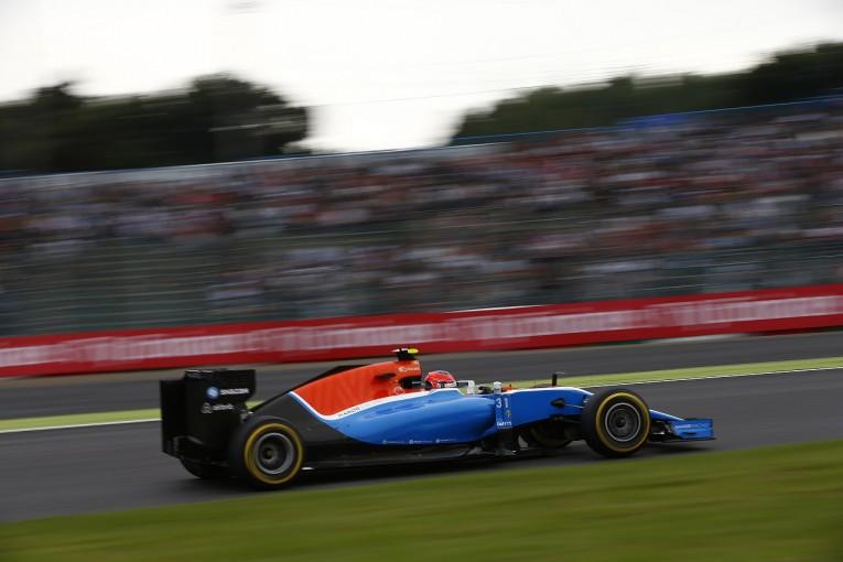 F1 | オコン「優れた戦略でハースに迫ることができた」:マノー F1日本GP日曜