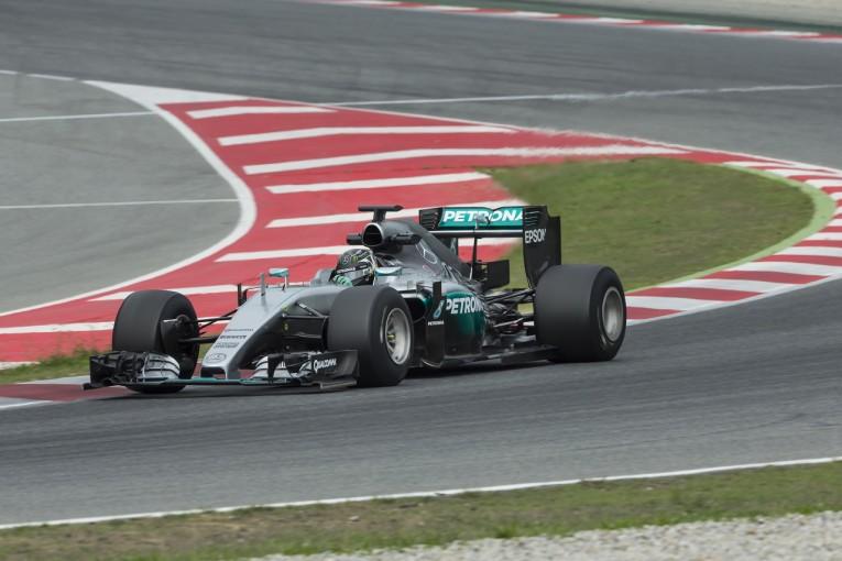 F1 | 2017年F1タイヤテストにロズベルグが初登場。コンディションが議論の的に?