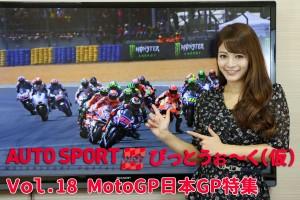 ASwebぴっとうぉ~く(仮)Vol.18 MotoGP日本GP特集。めぐにゃんMotoGPを知る