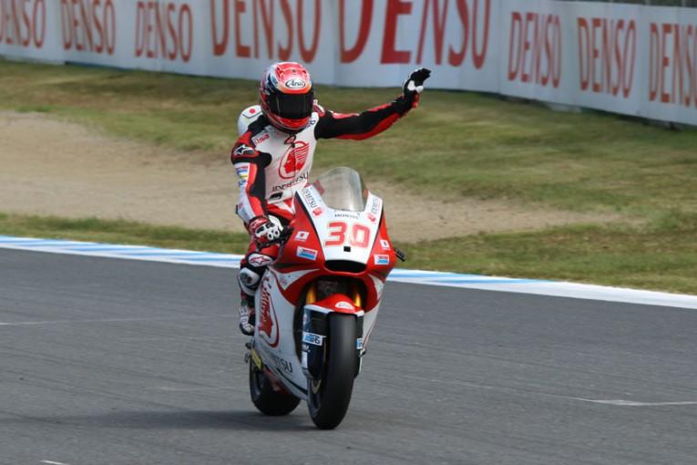 MotoGP   MotoGP日本GP:Moto2 FP1 中上がホームレースで好発進!