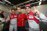 ポールポジションを獲得した8号車アウディR18のルーカス・ディ・グラッシ/ロイック・デュバル/オリバー・ジャービス