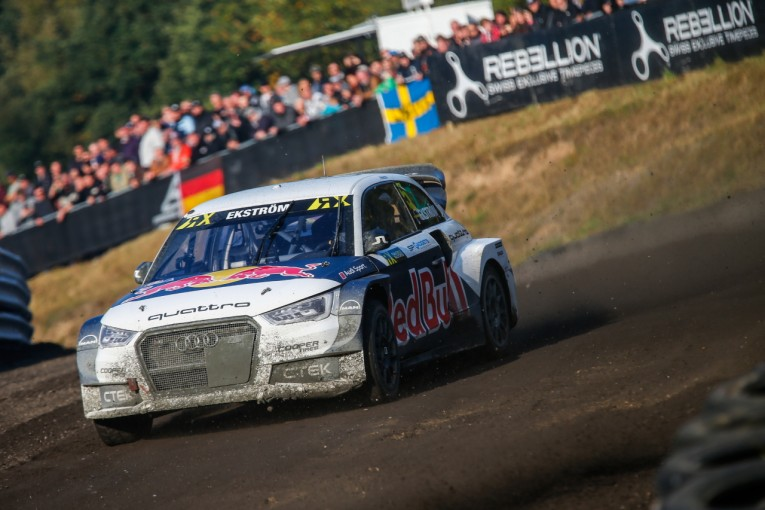 ラリー/WRC   DTM欠席で悲願成就! エクストロームがラリークロスで初の世界タイトル獲得