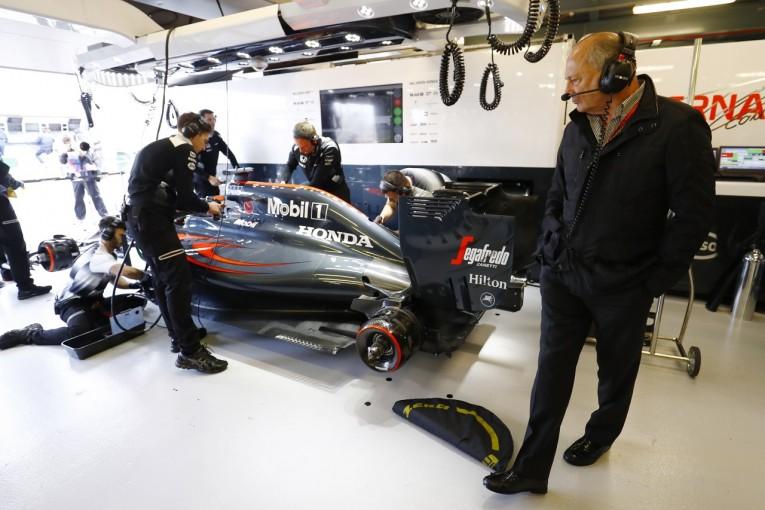 F1   マクラーレン・ホンダF1、今季に低い自己評価点も「来年の準備はもっと順調」