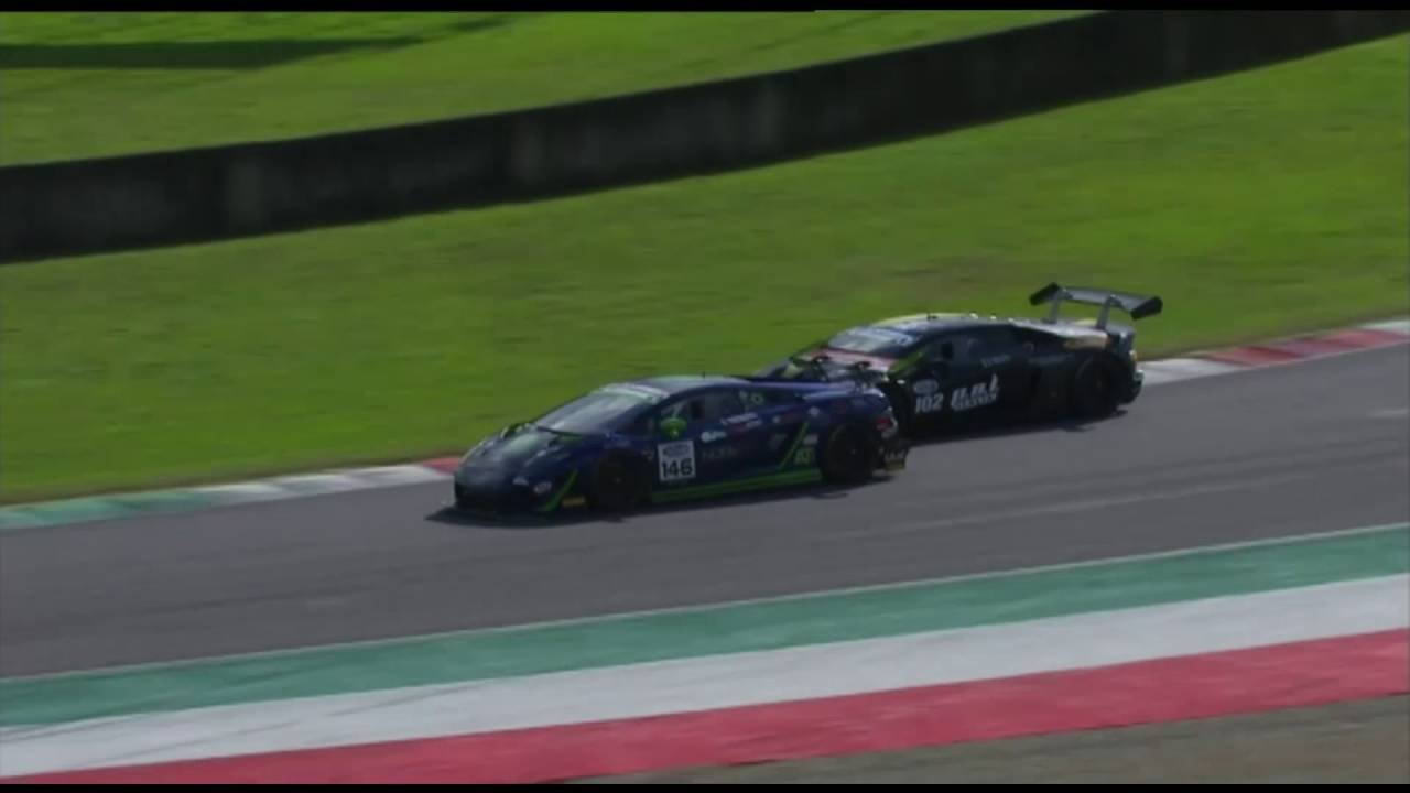 イタリアGT:笠井崇志、最終ラウンドで優勝飾るも僚友のチャンピオンは届かず