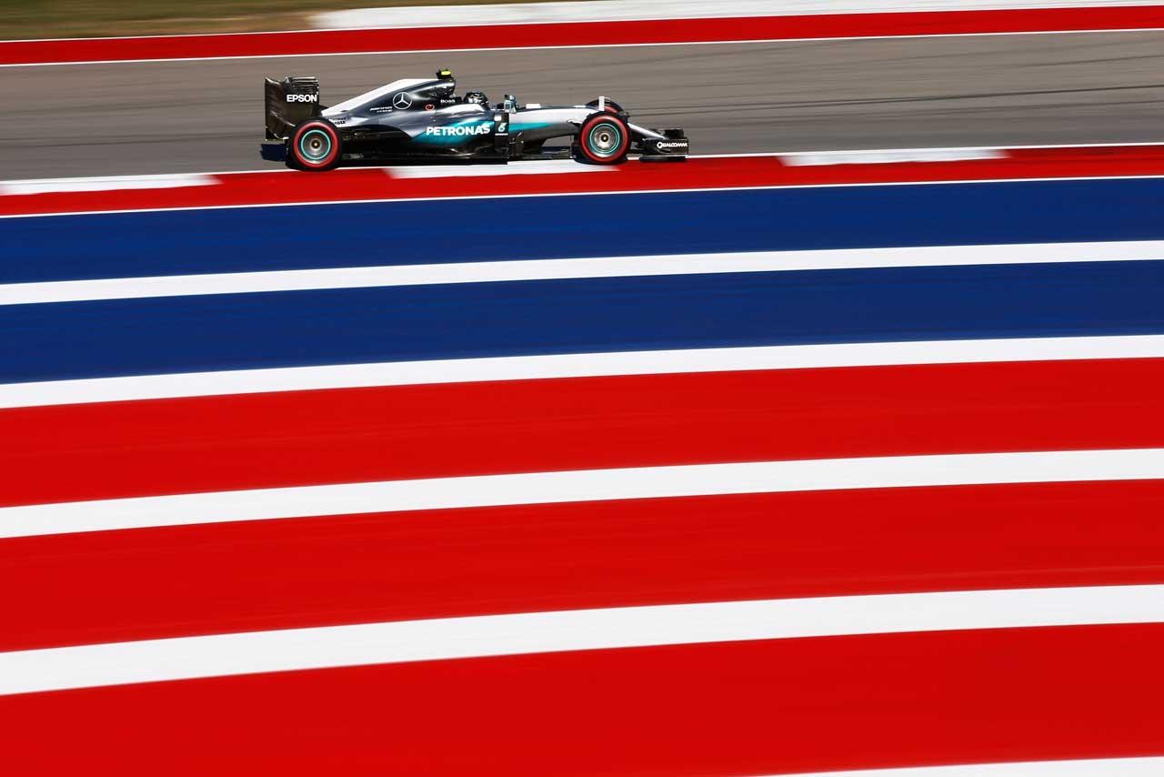 2016年F1第18戦アメリカGP ニコ・ロズベルグ