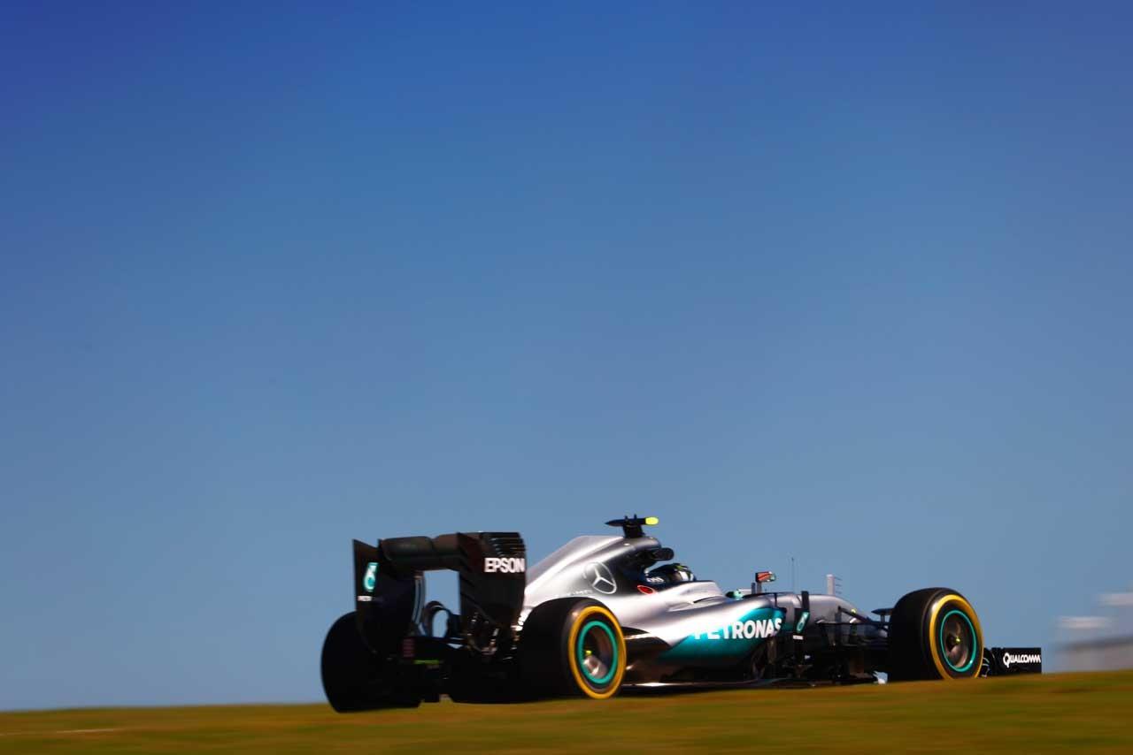 F1アメリカGPのフリー走行2回目はロズベルグがトップ。マクラーレン・ホンダ勢が揃ってトップ10