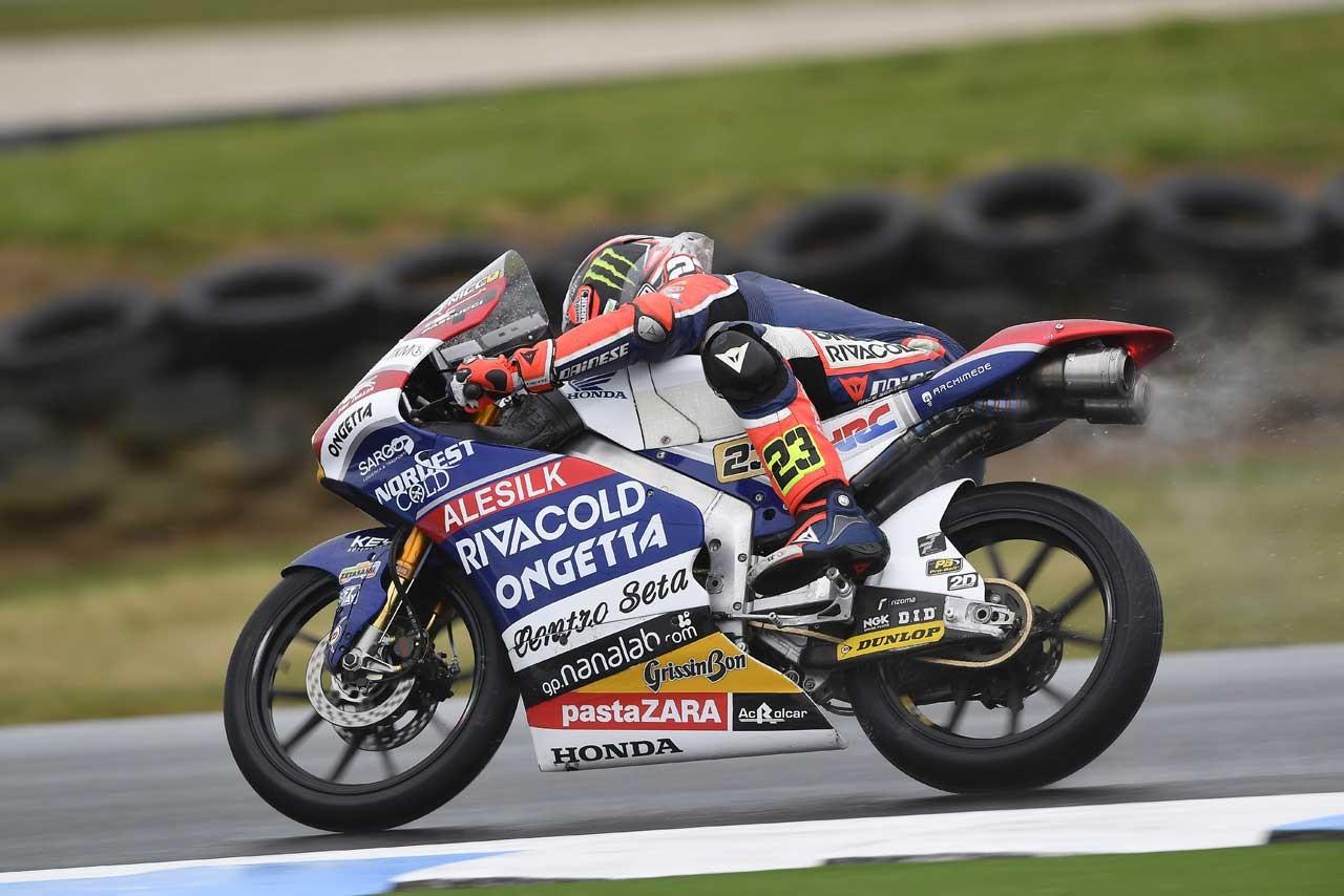 Honda MotoGP第16戦オーストラリアGP Moto3クラス初日レポート