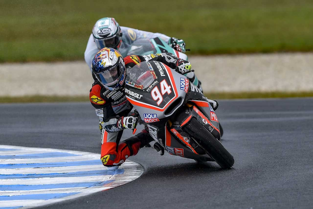 Honda MotoGP第16戦オーストラリアGP Moto2クラス初日レポート