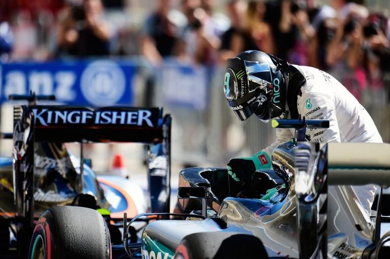 F1 | ロズベルグ「セクター1で敗れた。でもポールはここでは必須じゃない」:メルセデス F1アメリカGP土曜