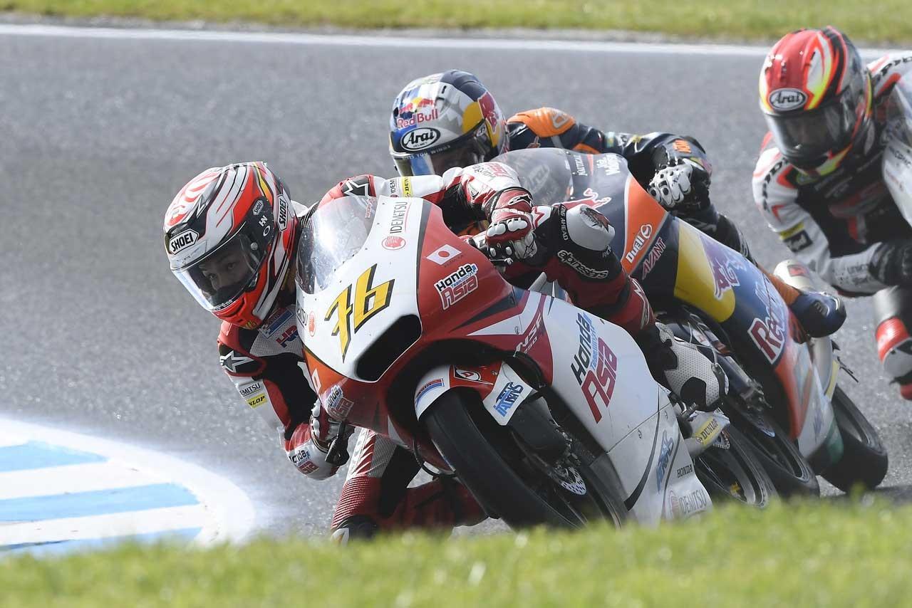Honda MotoGP第16戦オーストラリアGP Moto3クラス予選日レポート
