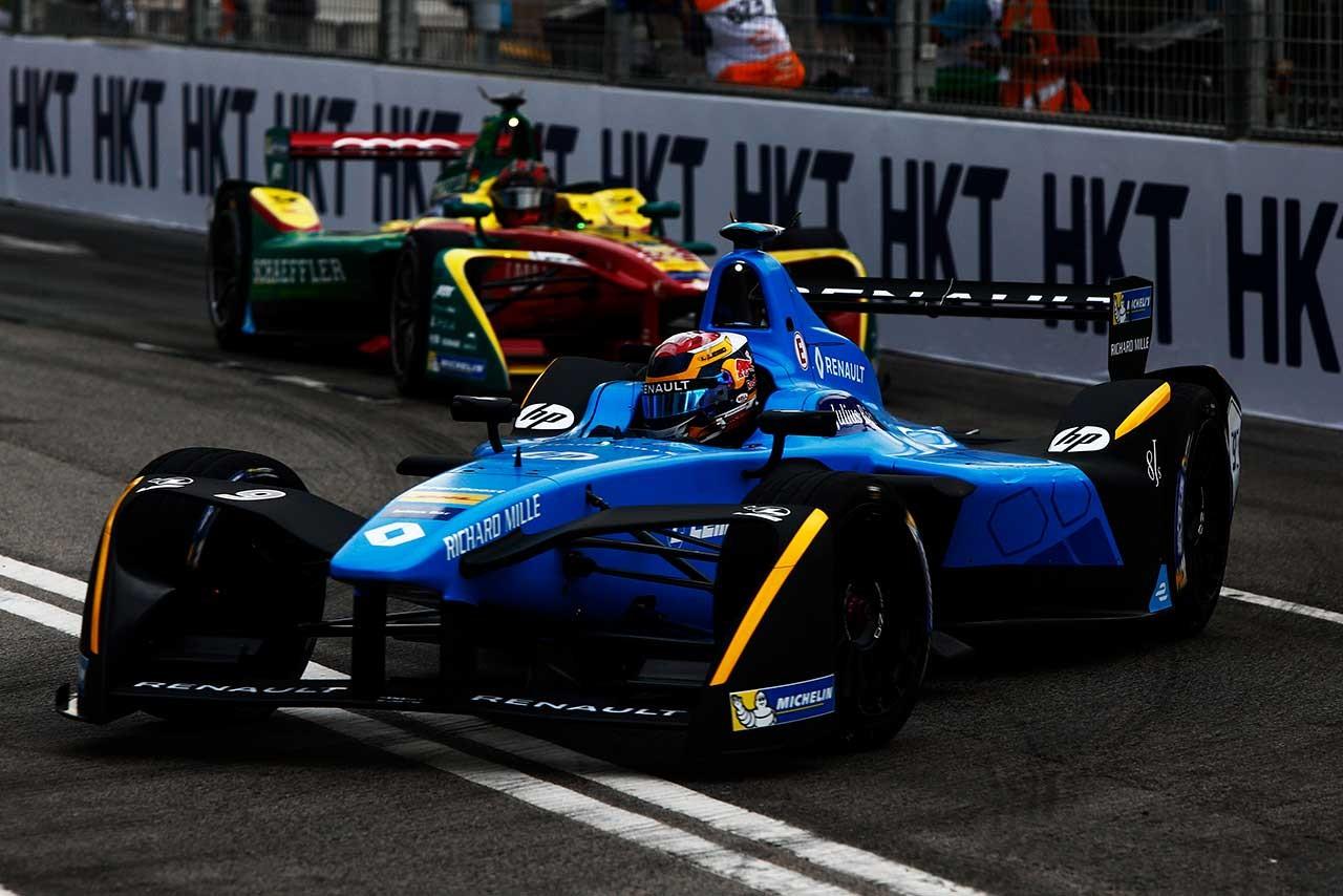 FE2016/17シリーズ開幕戦香港ePrix