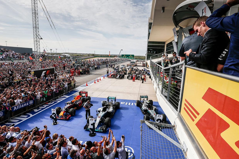 F1第18戦アメリカGP