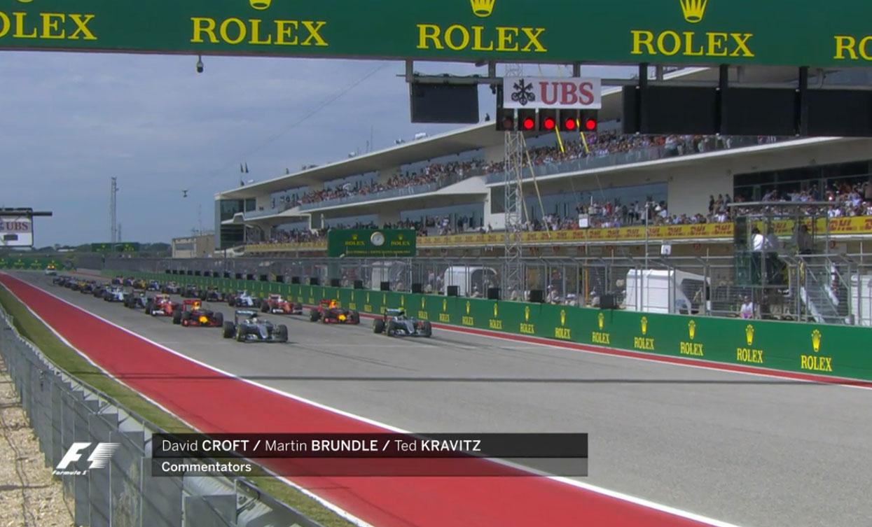 F1第18戦アメリカGP決勝ハイライト