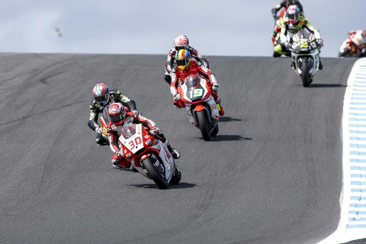 Honda MotoGP第16戦オーストラリアGP Moto2クラス決勝日レポート