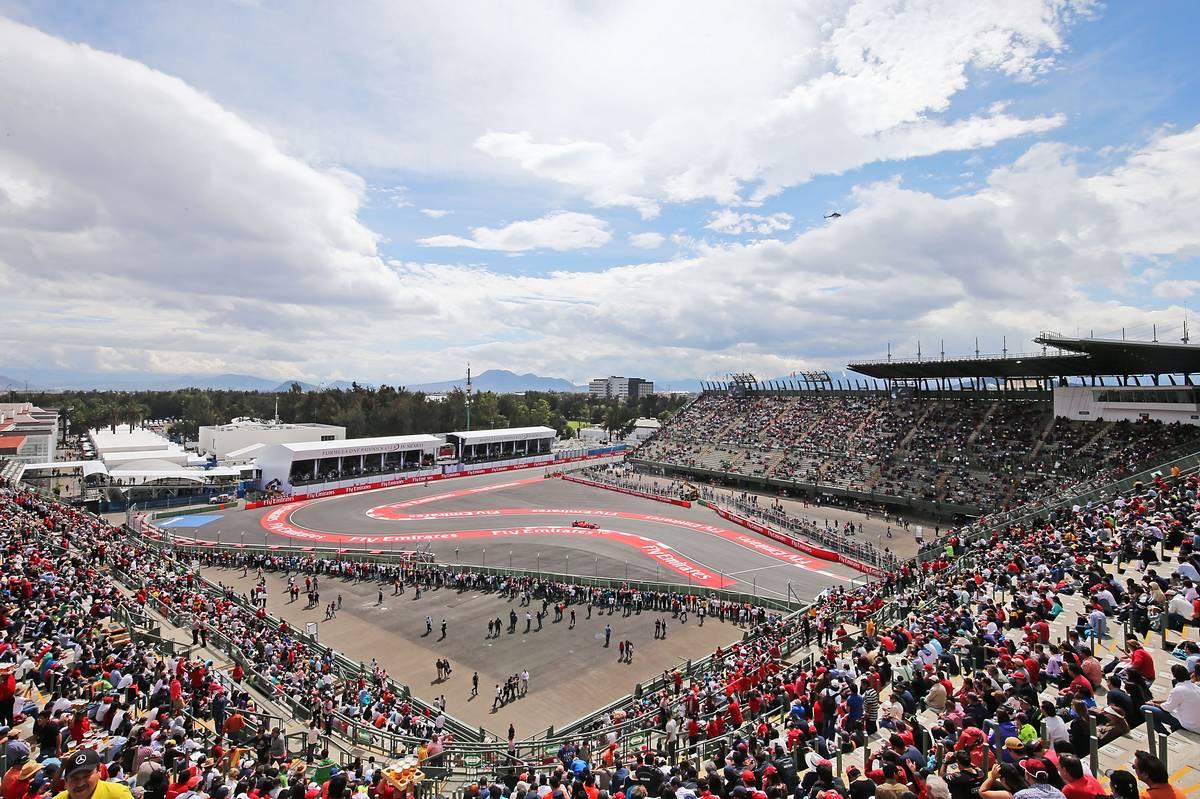 F1第19戦メキシコGP、TV放送&タイムスケジュール