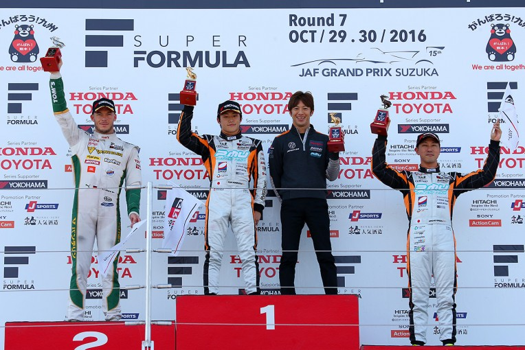 スーパーフォーミュラ | スーパーフォーミュラ第7戦鈴鹿:レース1後の王者候補は4人。王座獲得の可能性は