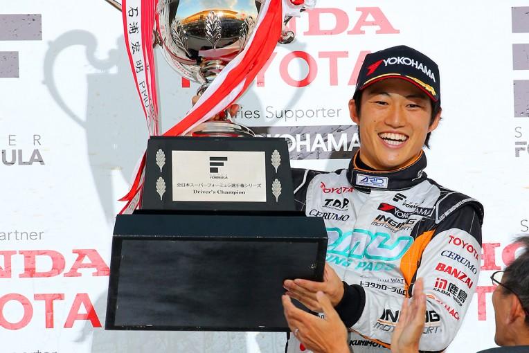 スーパーフォーミュラ   スーパーフォーミュラ鈴鹿:レース2はバンドーンV。6位の国本が初のチャンピオン獲得!