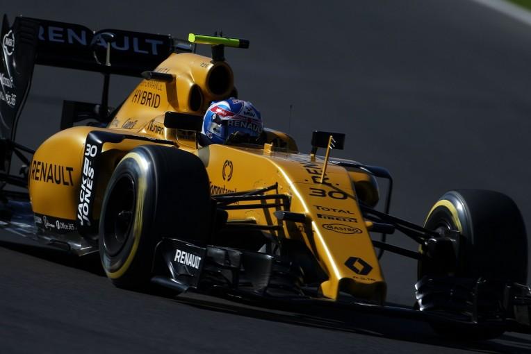 F1 | パーマー「縁石を超えただけでシャシーが壊れたと知って驚いた」:ルノー F1メキシコGP土曜