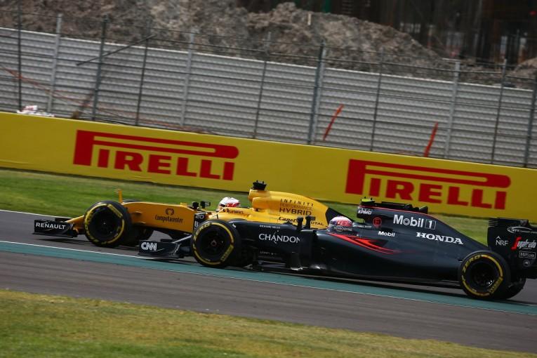 F1   バトン「ギャンブルをしていたらもっと上位に行けたかも」:マクラーレン・ホンダ F1メキシコGP日曜