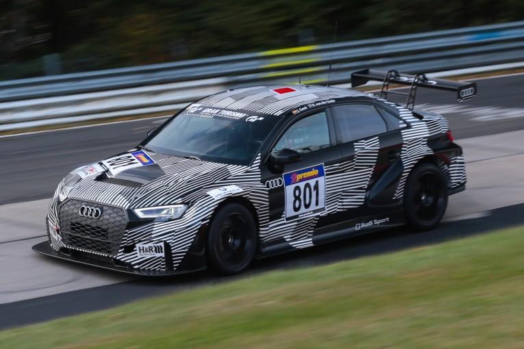 海外レース他 | アウディの新型TCR車両『RS3 LMS』がVLN最終戦で公式戦デビュー