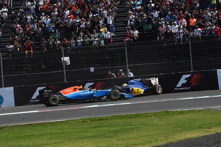 F1   ウェーレイン「グティエレスはなぜあんなリスクを冒すのか」:マノー F1メキシコGP日曜