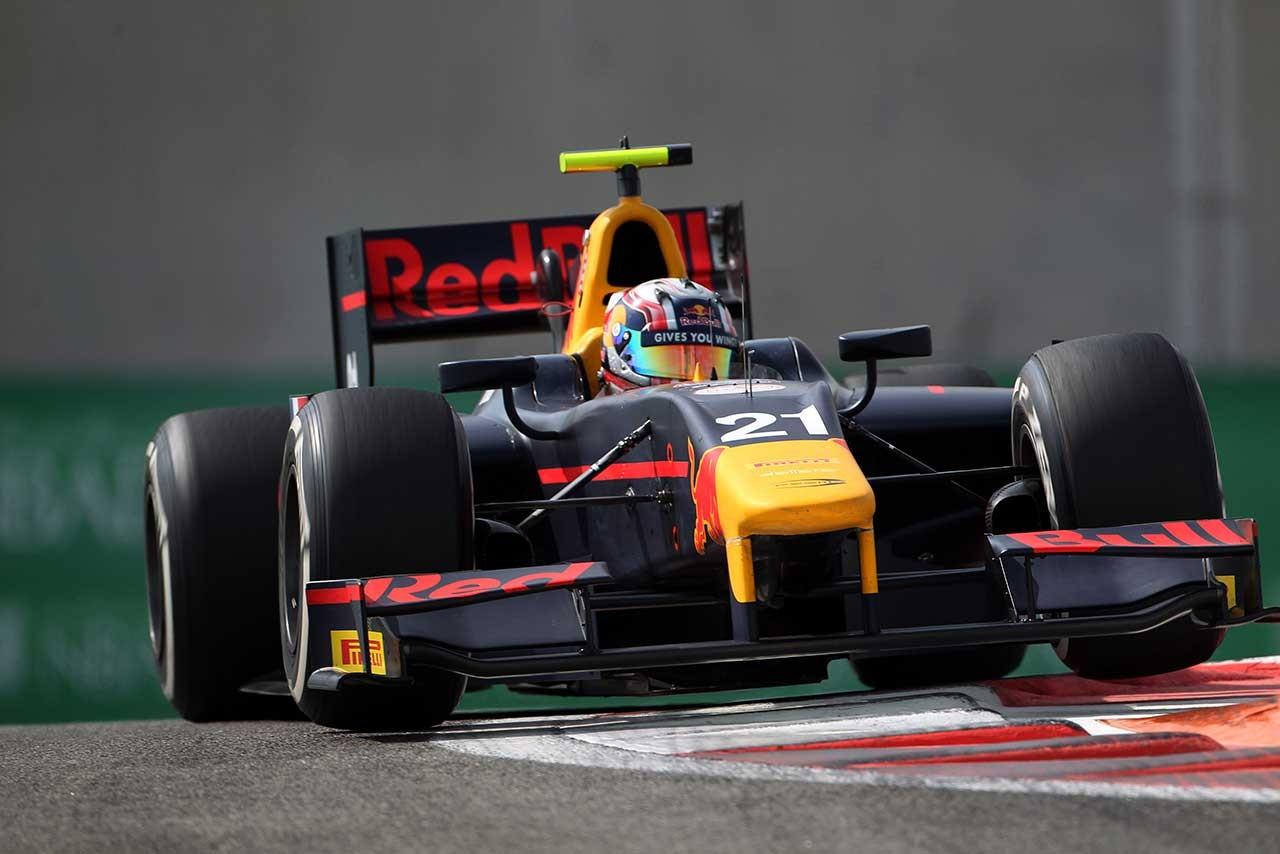 GP2王者を獲得したガスリー
