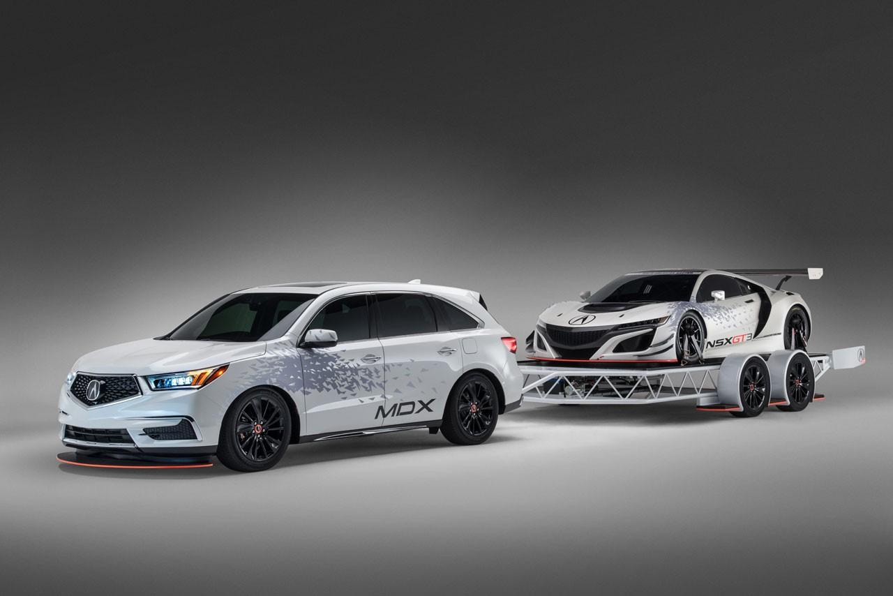 米ホンダ、ラスベガスのSEMAショーにシビック・タイプRとNSX GT3を出展