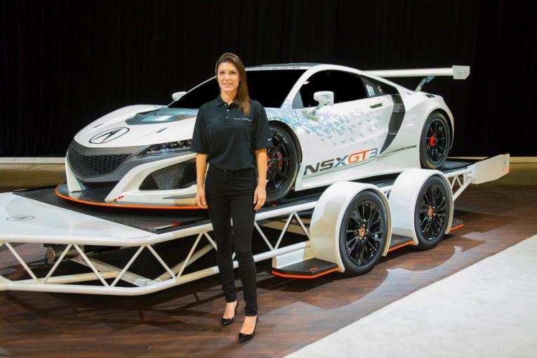 ル・マン/WEC | 女性ドライバーのキャサリン・レッグ、NSX GT3で来季IMSA参戦へ
