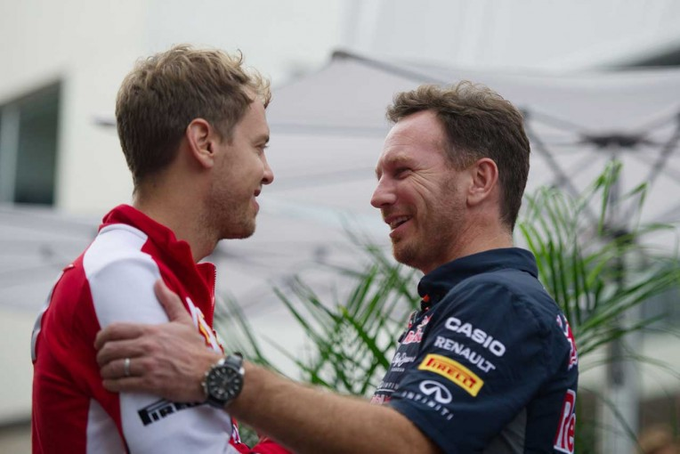 "F1   「フェラーリに行ってベッテルは変わった」。""行き過ぎた暴言""に元ボス、ホーナーが驚き"