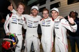 優勝した1号車ポルシェ919ハイブリッドのティも・ベルンハルト/マーク・ウェバー/ブランドン・ハートレー