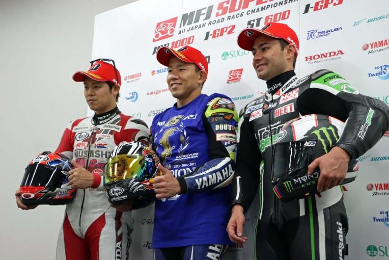 MotoGP | 全日本ロード第9戦鈴鹿:レース2後会見/中須賀「来年は誰も抜けない記録を作りたい」